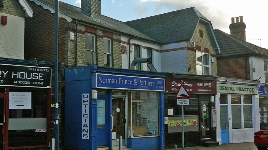 The Addlestone practice is on the main shopping street, very close to the railway station.